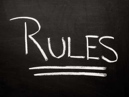 edicto: Reglas