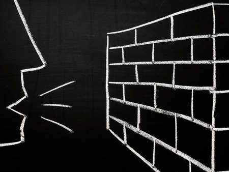ineffective: Talking to a brick wall