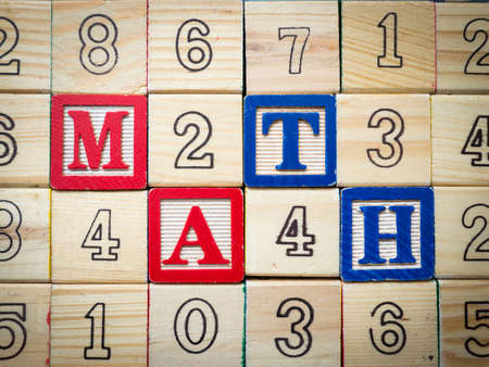 Math and numbers Stock Photo - 16398233