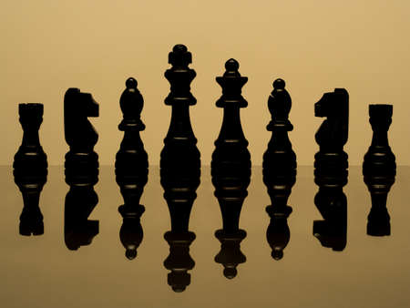 Chess banner background photo