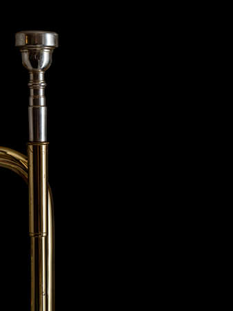 Trumpet music background Stock Photo - 16726531