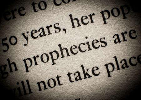 未来の予言