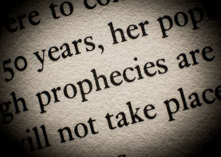 prophecy: Prophecy of future