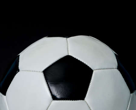 Pallone da calcio sfondo Archivio Fotografico - 17933725