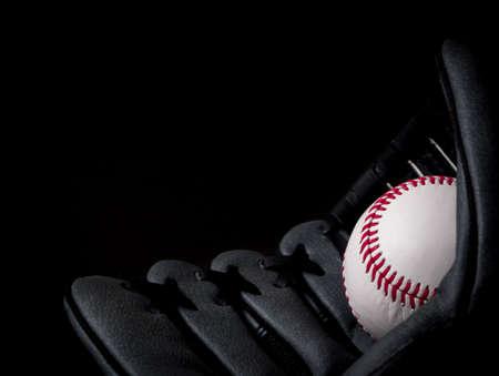 guante de beisbol: B�isbol en guante