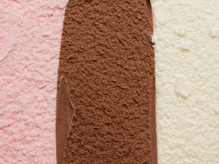 neapolitan: Neapolitan Ice Cream Stock Photo