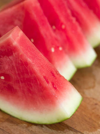 sliced watermelon: Watermelon slices