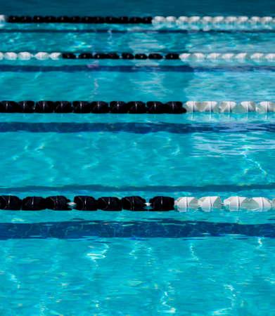 Pool lane ropes