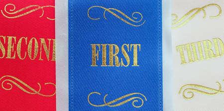 Winning ribbons Stock Photo - 21448538