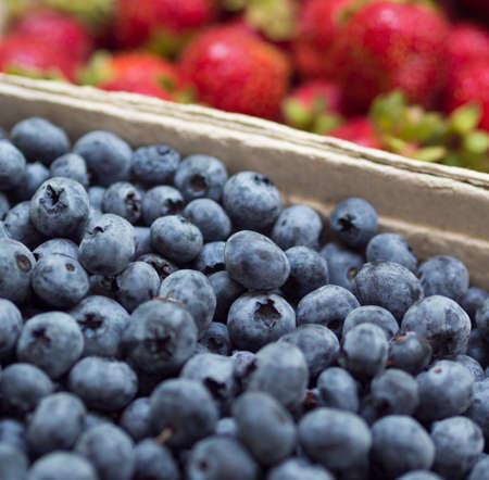 Fresh market berries Stock Photo - 21448584