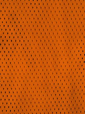 material: Orange fabric Stock Photo