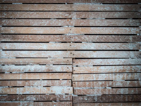 lath: Lath and plaster wall Stock Photo