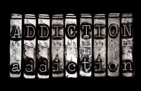 Addiction concept Banco de Imagens