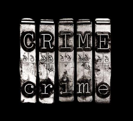 Crime word