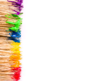 paint background: Pintar fondo Foto de archivo