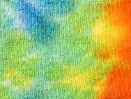 Tye dye fabric Banque d'images