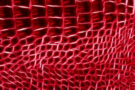 faux: Red closeup ecopelle