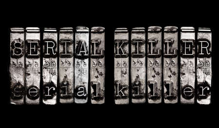 serial: Serial Killer concept Stock Photo
