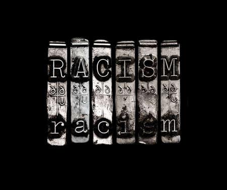 racisme: Racisme begrip Stockfoto