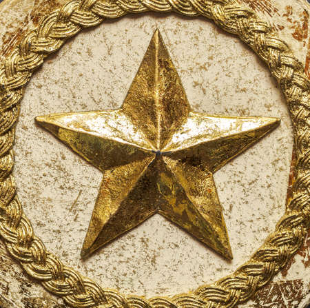 star: Gold star Stock Photo