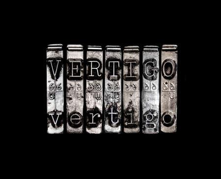 vertigo: Vertigo Stock Photo