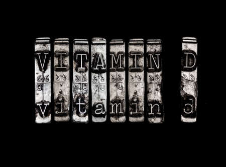 d: Vitamin D Stock Photo