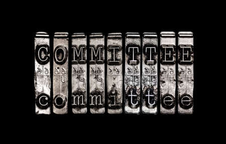 Committee concept Stock Photo - 27339225