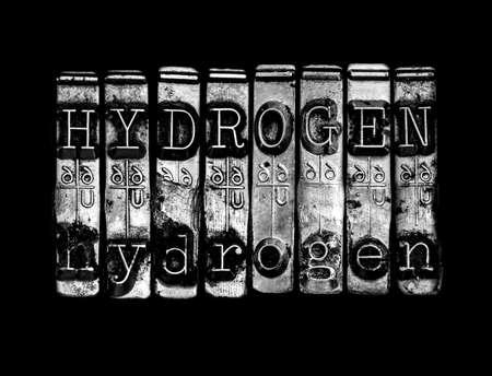 hidrogeno: Concepto de Hidr�geno Foto de archivo