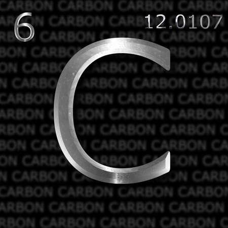 an element: Carbon element concept