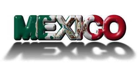 Concepto México Foto de archivo