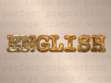 english language: English language concept