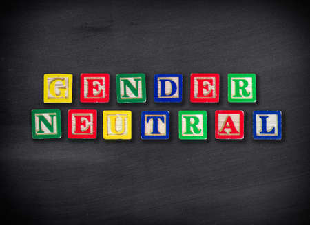 Gender neutral concept photo