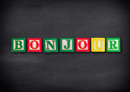 bonjour: Hello in French