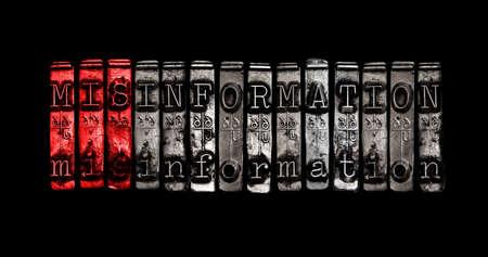 truths: Misinformation Stock Photo