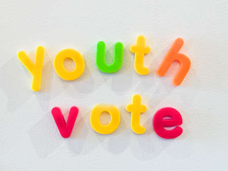 electing: Youth vote concept