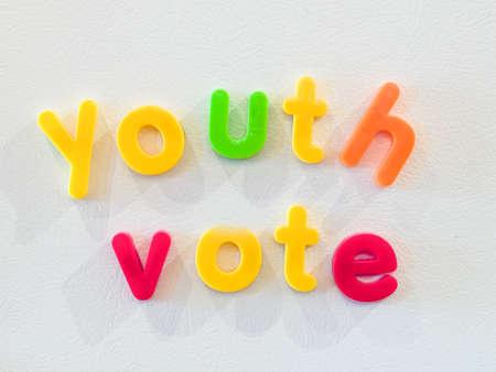 vote: Youth vote concept