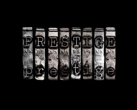 prestige: Prestige concept