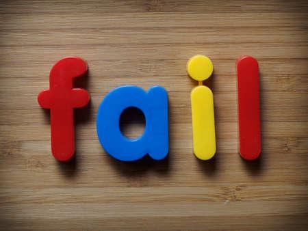 Fail begrip Stockfoto