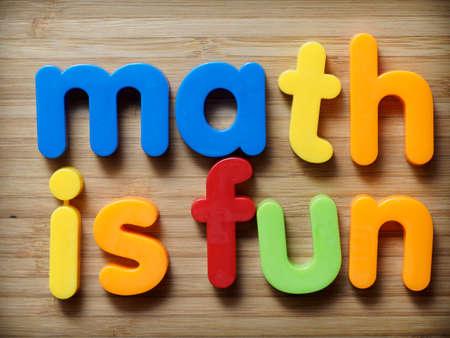 Math is fun concept