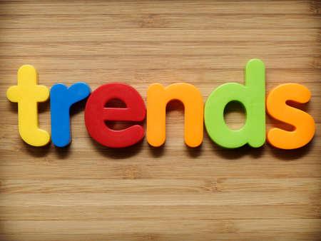 trends: Trends concept
