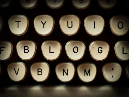 article writing: Blog concept