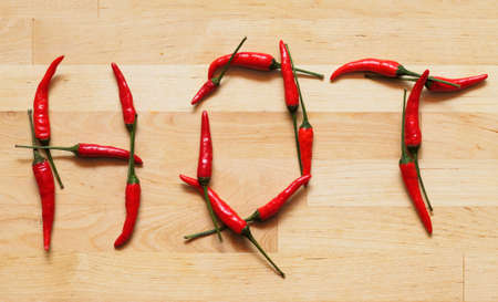 spicy: Hot and spicy Stock Photo