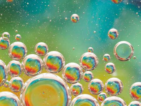 Bubbles background Zdjęcie Seryjne