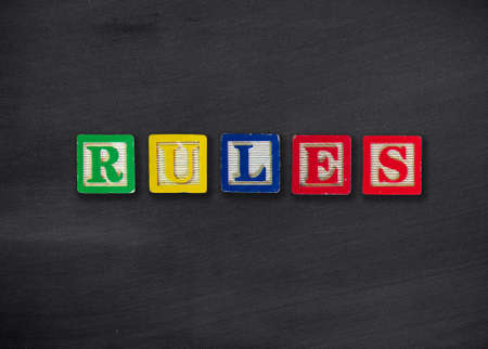 rule: Rules concept Stock Photo