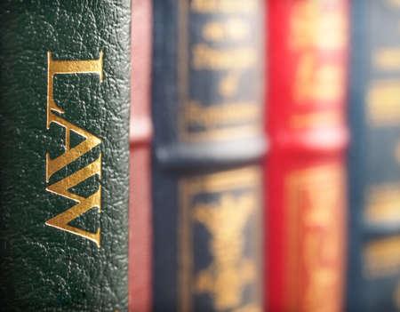 법률 책 개념