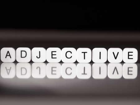 adjective: Adjective concept