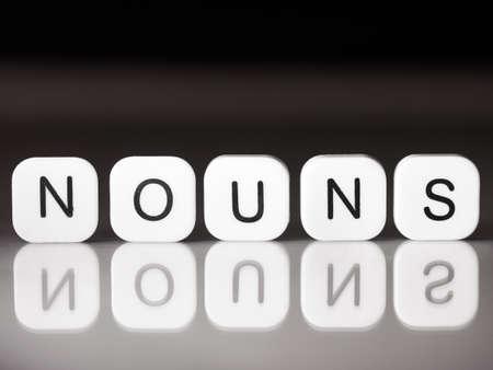 Noun concept
