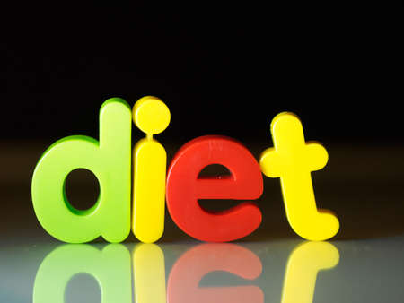 Diet nutrition concept Stock Photo