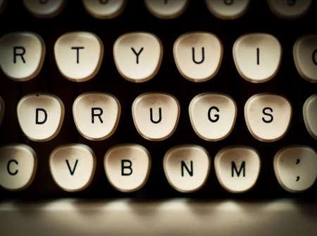 Drugs concept