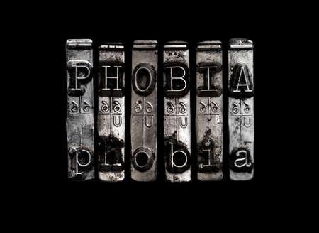 Phobia concept Stock Photo